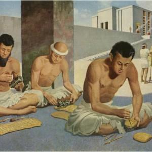 Escribas Mesopotamia